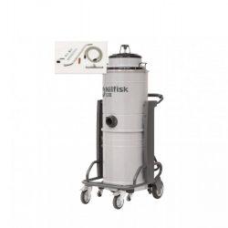 Nilfisk S3B L 100 Egyfázisú 3 motoros, száraz-nedves ipari porszívó (felszívó készlettel)