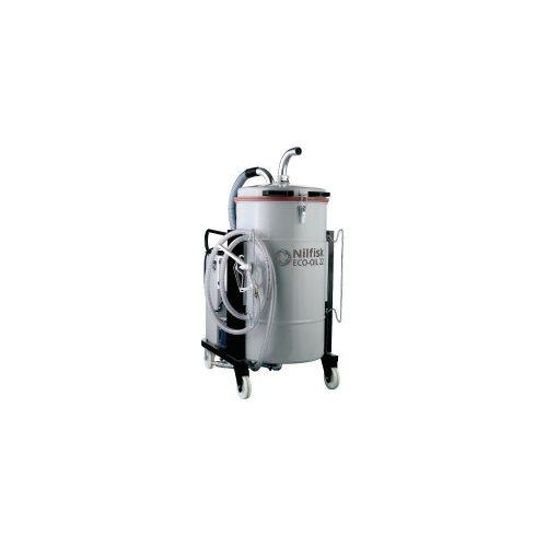 Nilfisk ECOIL22 5PP hűtő/kenőfolyadék felszívó ipari porszívó +kiegészítők
