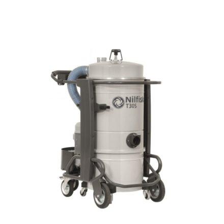 Nilfisk T30 L50 háromfázisú ipari porszívó + felszívó készlet