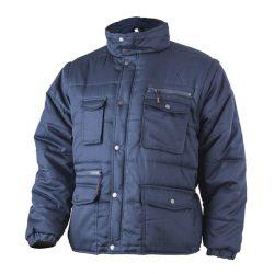 Coverguard Polena téli munkavédelmi kabát levehető ujjakkal, kék színben