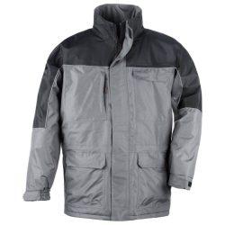 Coverguard Ripstop szakadásbiztos munkavédelmi kabát szürke/fekete színben