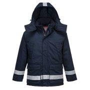 Portwest AF82 Araflame bélelt téli kabát navy színben