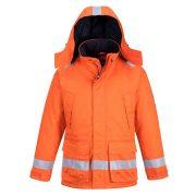 Portwest AF82 Araflame bélelt téli kabát narancs színben