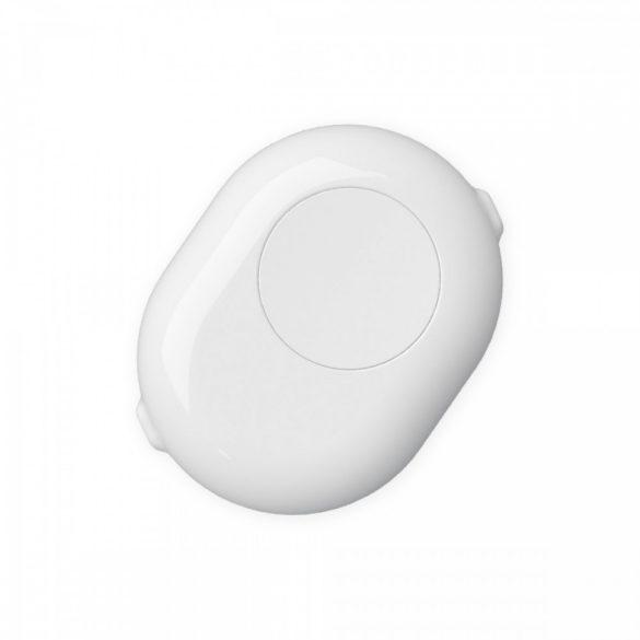 Shelly Button (fehér) védőtok gombbal Shelly 1 és Shelly 1PM relékhez