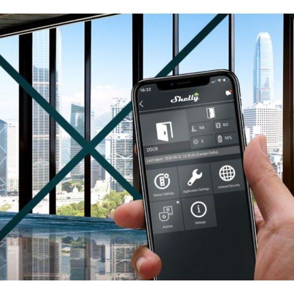 Shelly Door Window 2 WiFi-s ablak és ajtónyitás érzékelő