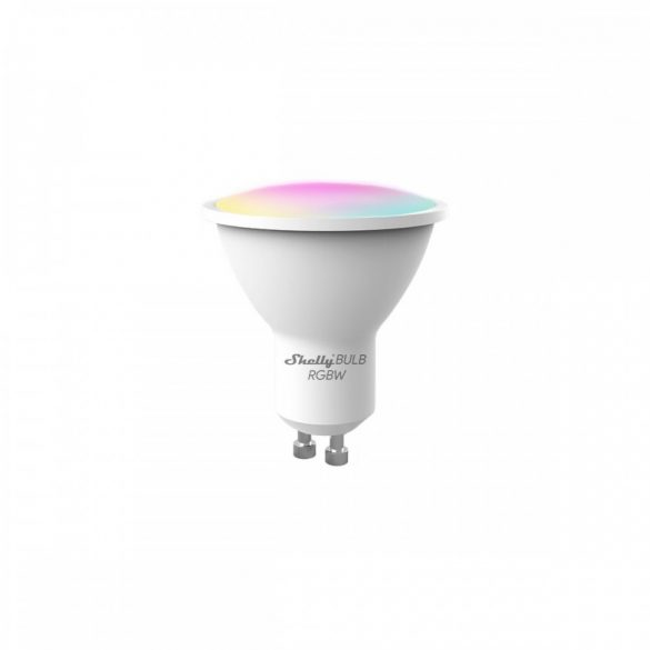 Shelly Duo RGBW (GU10) színes okosizzó