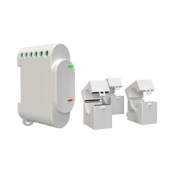 Shelly 3EM három fázisú, professzionális fogyasztásmérő és vezérlő