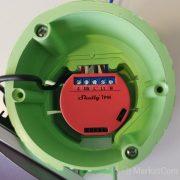 Shelly 1PM egycsatornás Wi-Fi-s okosvezérlés áramfogyasztásmérés funkcióval