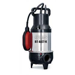 Elpumps merülő szivattyú BT 4877K INOX motorfedél szennyvíz darálós