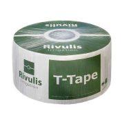 Rivulis T-TAPE csepegtető szalag 6mil-20cm osztás 3050m