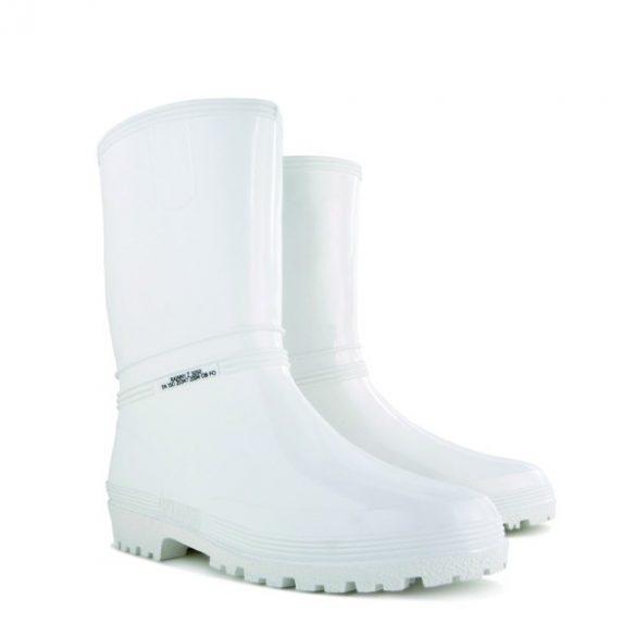 Demar Rainny z white PVC 3050 fehér női csizma