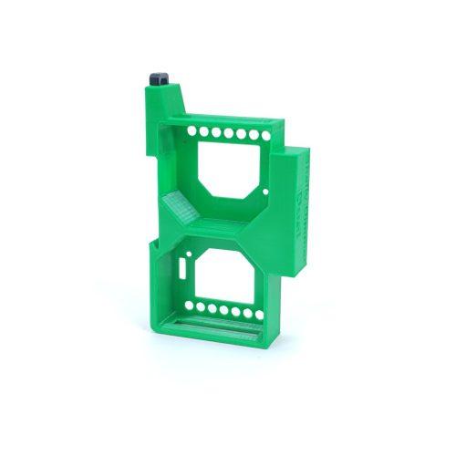 Dupla DIN sín tartó / adapter Shelly Dimmer és Shelly Dimmer 2 vezérléshez