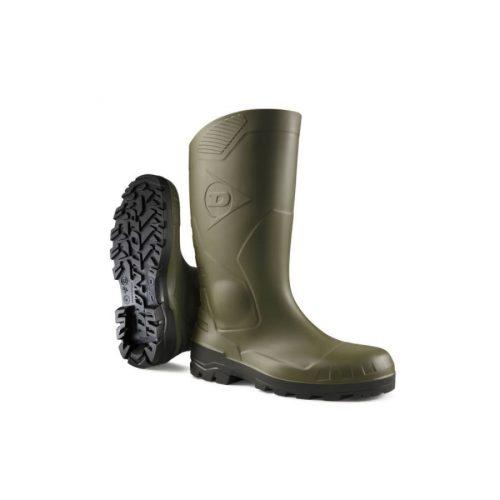 Dunlop Devon acélbetétes munkavédelmi PVC csizma S5