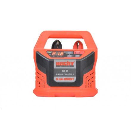 HECHT 2013 autó akkumulátor töltő 12V 2/6/10/15A 4-300AH