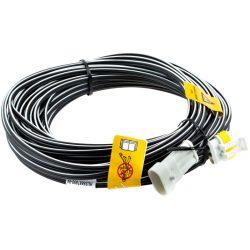 Husqvarna 105/305/310/315/315X/405X /415X/420/430X/520 töltő kábel 20m