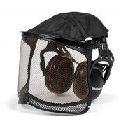 Husqvarna hallásvédő hálós arcvédővel 598750101