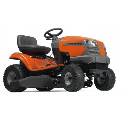 Husqvarna TS142T fűnyíró traktor fűgyűjtő nélküli