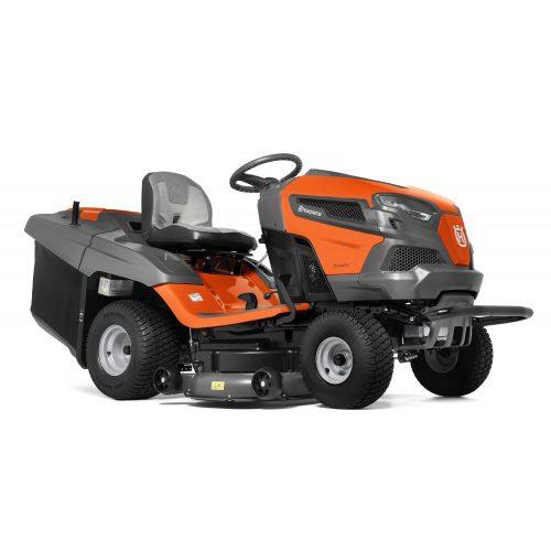 Husqvarna TC 242TX fűnyíró traktor fűgyűjtős