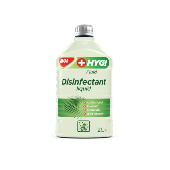 MOL HYGI FLUID Hygi Fluid Fertőtlenítő folyadék 2 liter