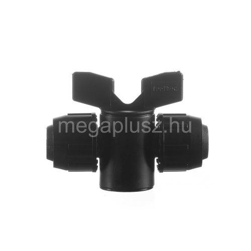 Irritec hengeres csap PE 20x20 műanyag