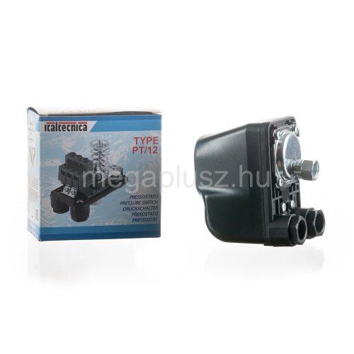 ITALTECNICA PM 5/G Nyomáskapcsoló vízhez 1-5bar közötti kapcsolással