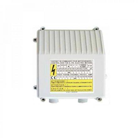 PM C-BOX35 vezérlődoboz 1 fázisú csőbúvár szivattyúhoz QJD075