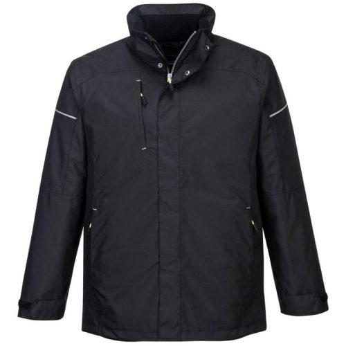 Portwest PW362 PW3 téli kabát fekete színben