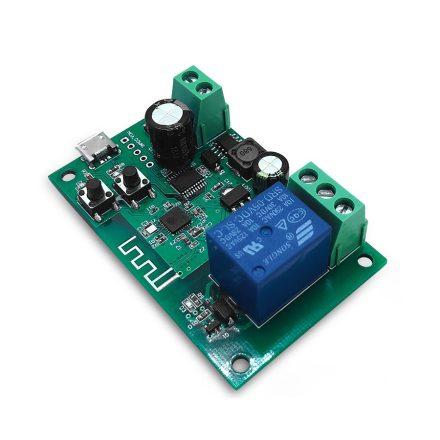 SmartWise 5V-32V egy áramkörös, okos kapcsoló relé impulzus kapcsolással