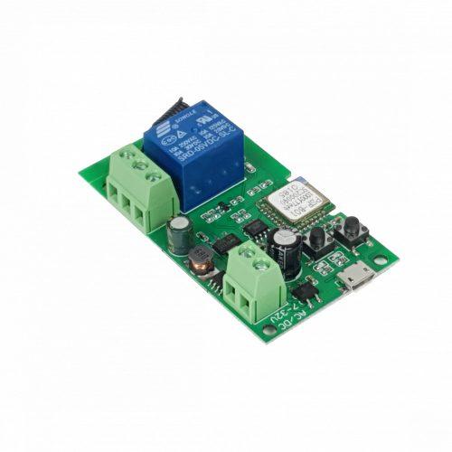 SmartWise 5V-32V egy áramkörös, WiFi + RF, NO/NC okosrelé