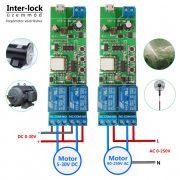 SmartWise 5V-32V két áramkörös, okos kapcsoló relé impulzus kapcsolással
