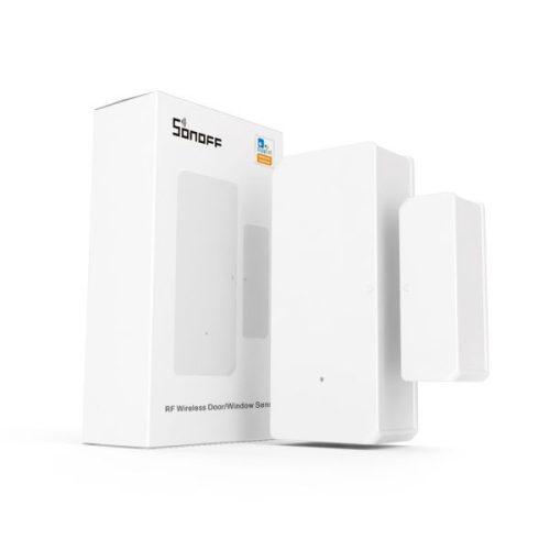 Sonoff DW2 RF (vezetéknélküli) ajtó / ablaknyitás érzékelő