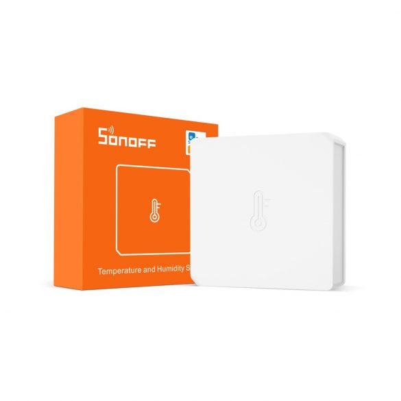 Sonoff Zigbee hőmérő és páratartalom érzékelő mini vezetéknélküli szenzor (ZNZB-02)
