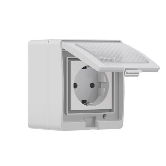 Sonoff S55 WiFi-s, kültéri, internetről távvezérelhető okoskonnektor aljzat