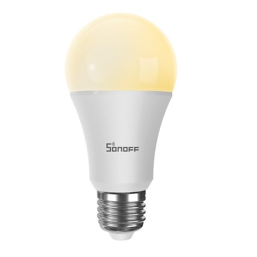Sonoff B02-B-A60 fehér fényű WiFi-s LED okosizzó (E27 foglalathoz)