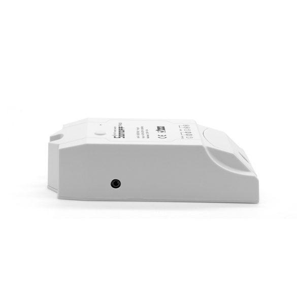 Sonoff TH10 WiFi-s, internetről távvezérelhető kapcsoló relé