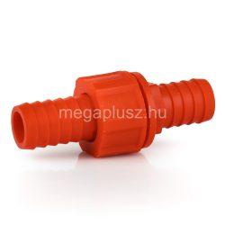 Tömlőösszekötő műanyag 1-1col