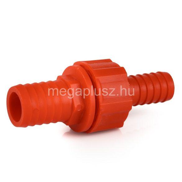 Tömlőösszekötő műanyag 1/2x1x1col