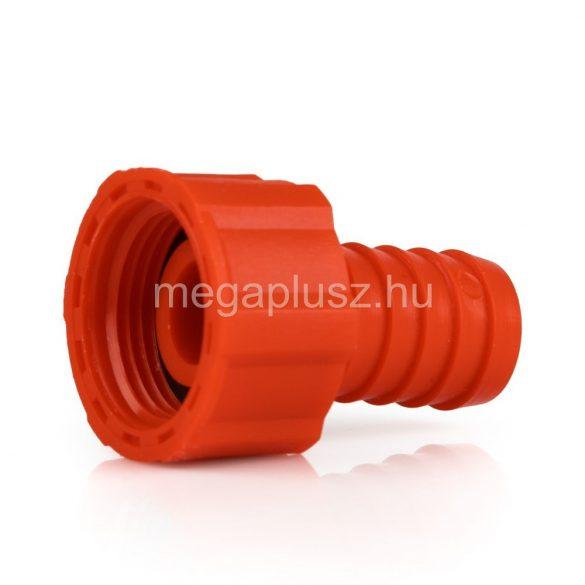Tömlővég műanyag 1/2-1/2col holl.