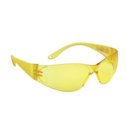 Lux Optical Pokelux 60556 munkavédelmi védőszemüveg sárga lencsével